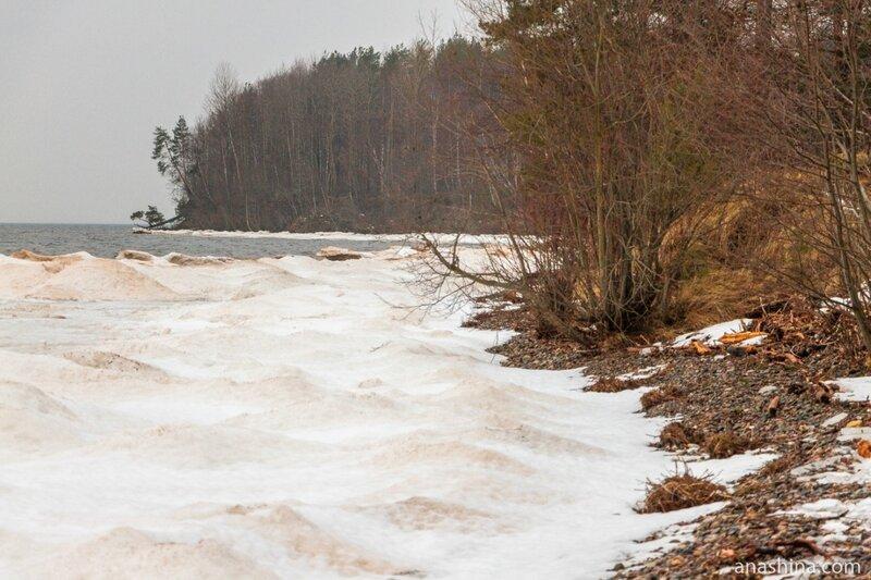 Онежское озеро, зима