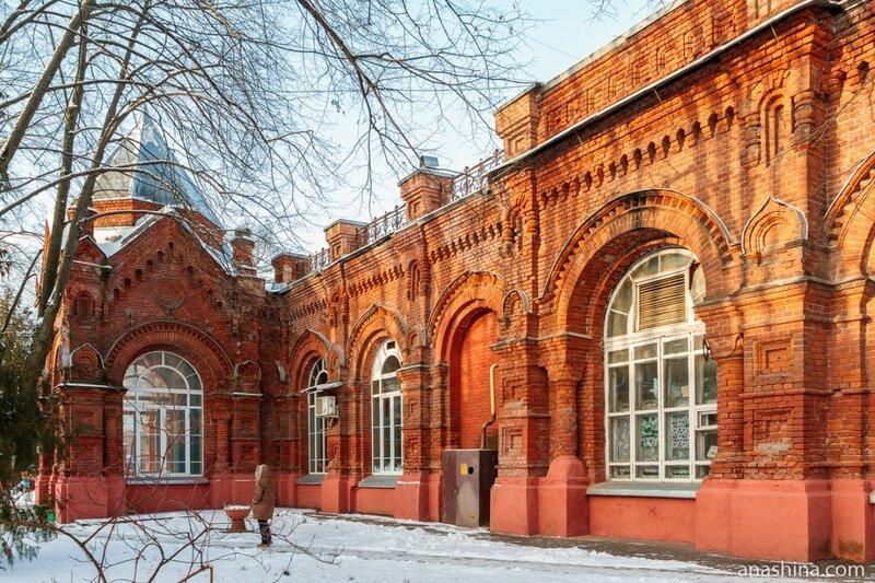 Здание Главной насосной станции, Мытищинская насосная станция