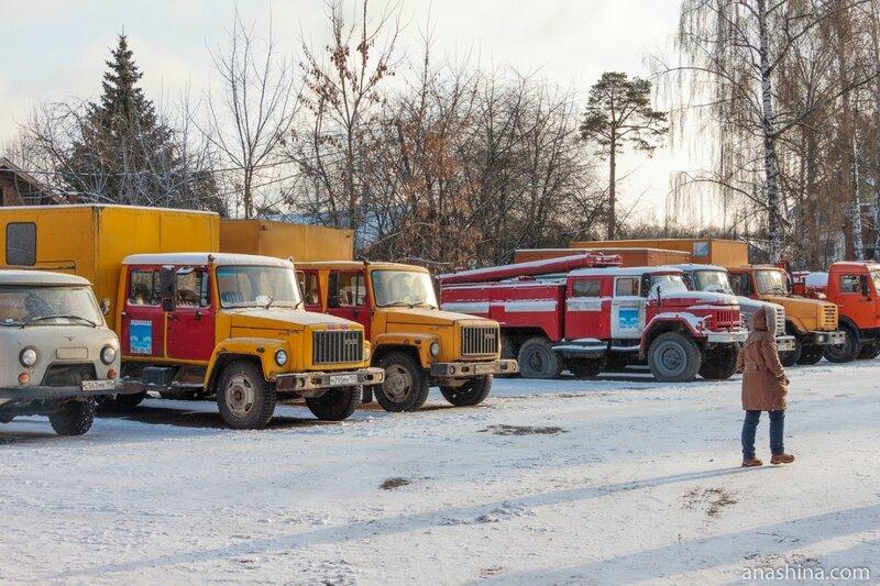 """Аварийные машины """"Водоканала"""", Мытищинская насосная станция"""