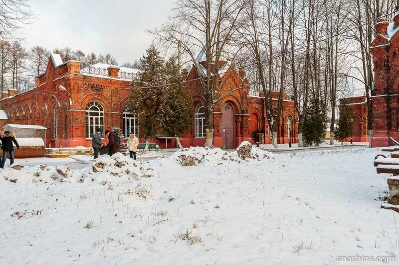 Главная насосная станция, Мытищинская насосная станция