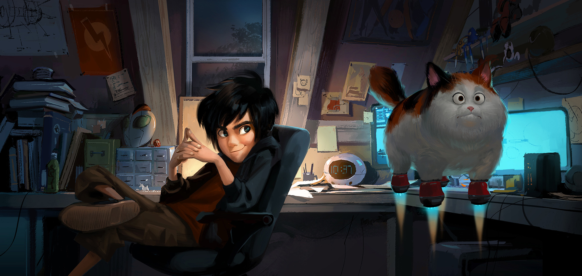 Big Hero 6 Concept Art by Mingjue Helen Chen (6 pics)