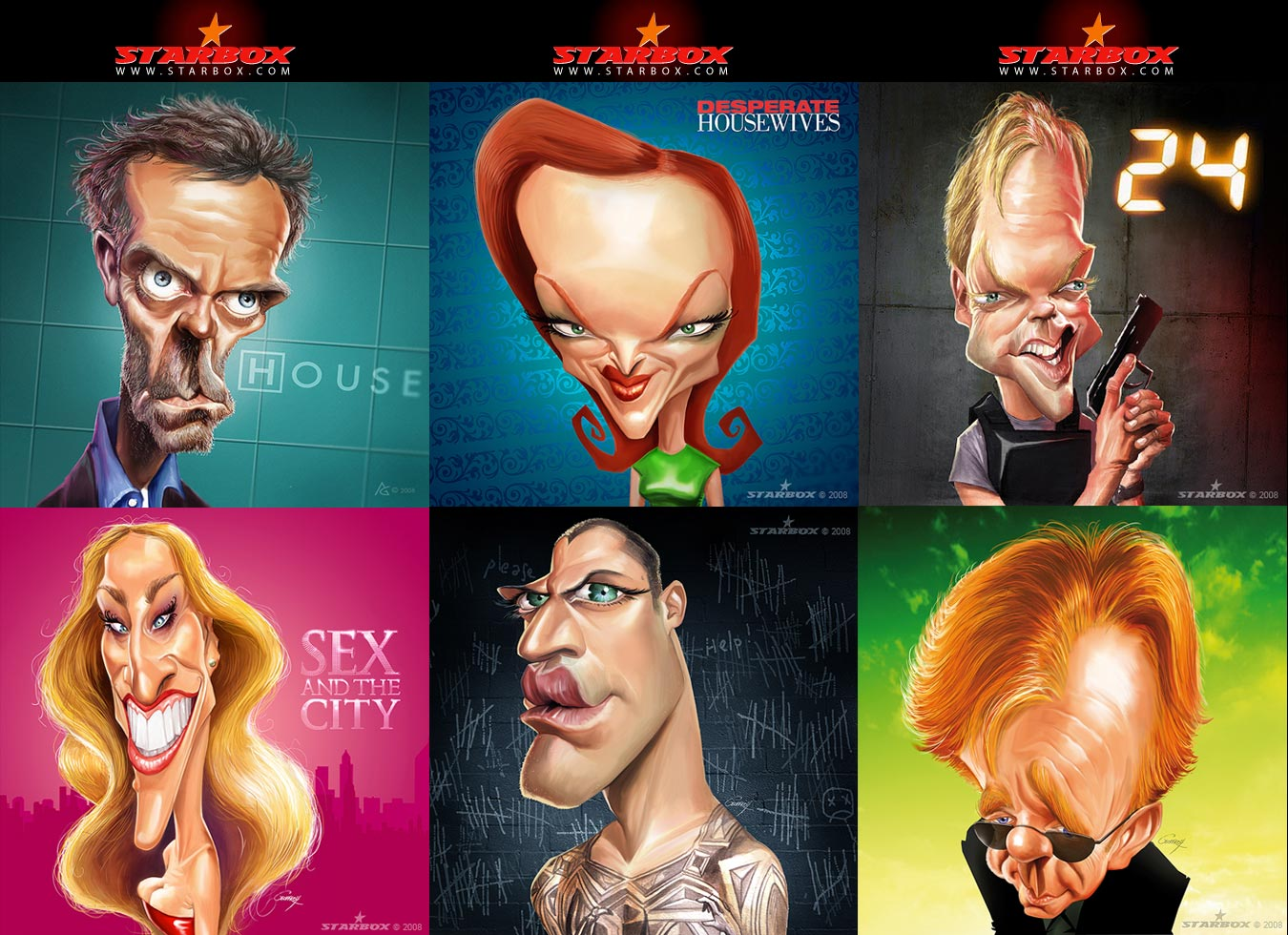 Caricatures - Illustrator - Anthony Geoffroy