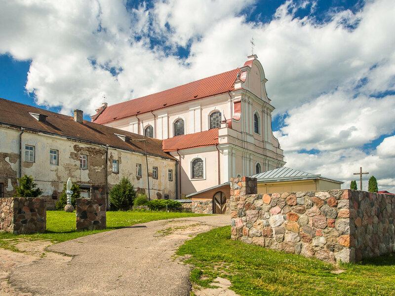 Монастырь францисканцев в Гольшанах.