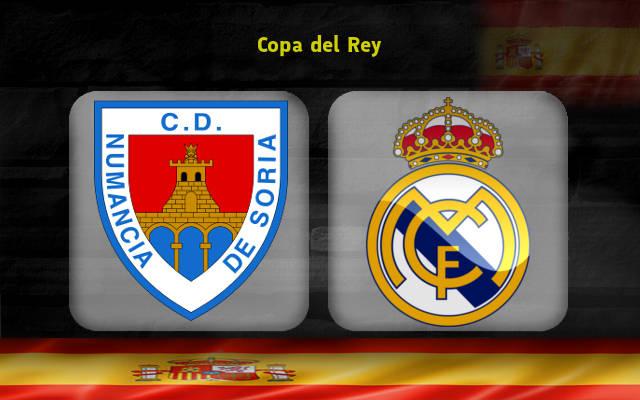 Нумансия – Реал Мадрид (04.01.2018) | Кубок Испании 2017/18 | 1/8 финала | Первый матч