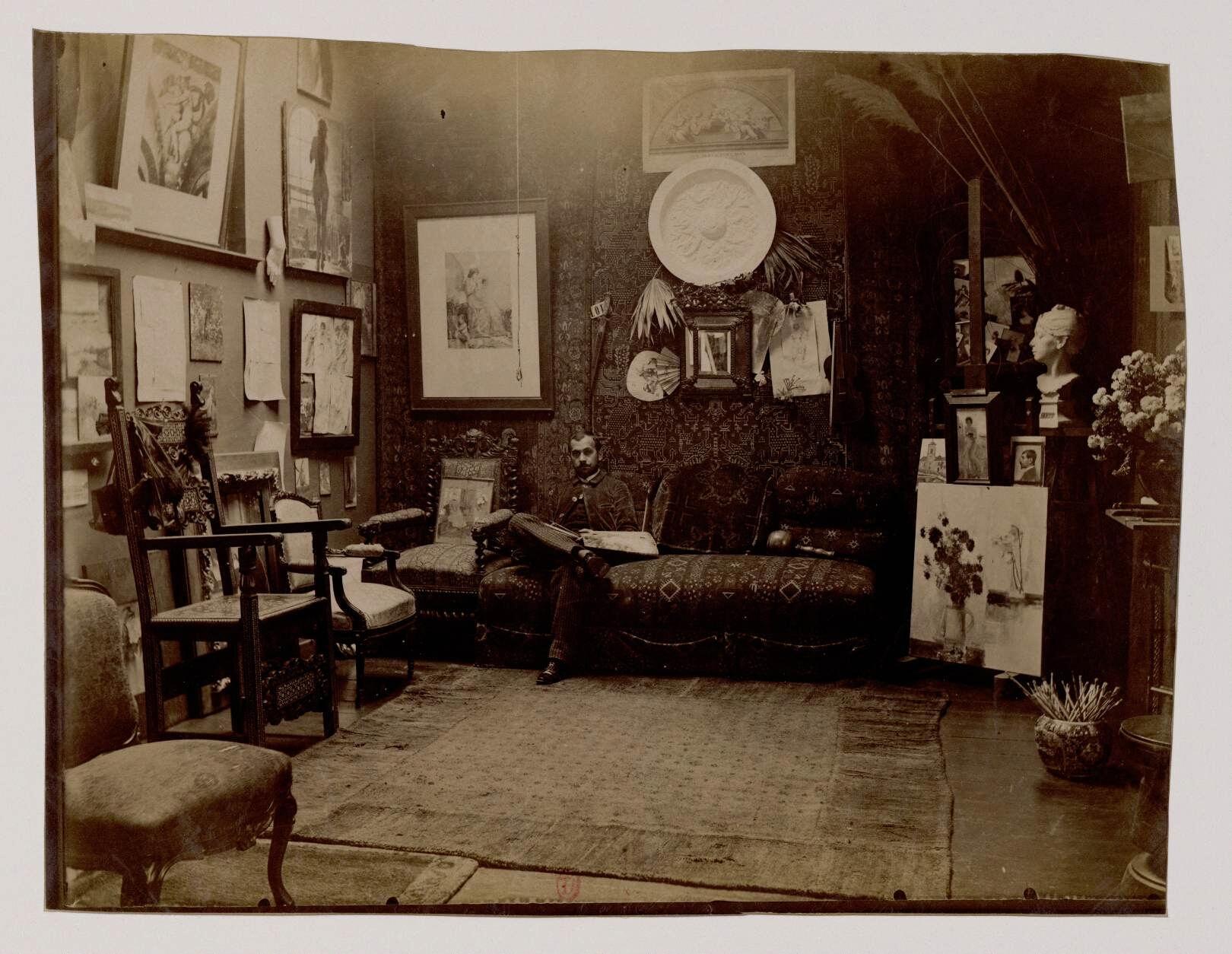 23. Огюст-Франсуа-Мари Горже (1862-1927) - французский художник