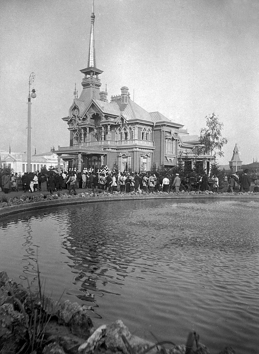 Здание Царского павильона. Нижегородская ярмарка