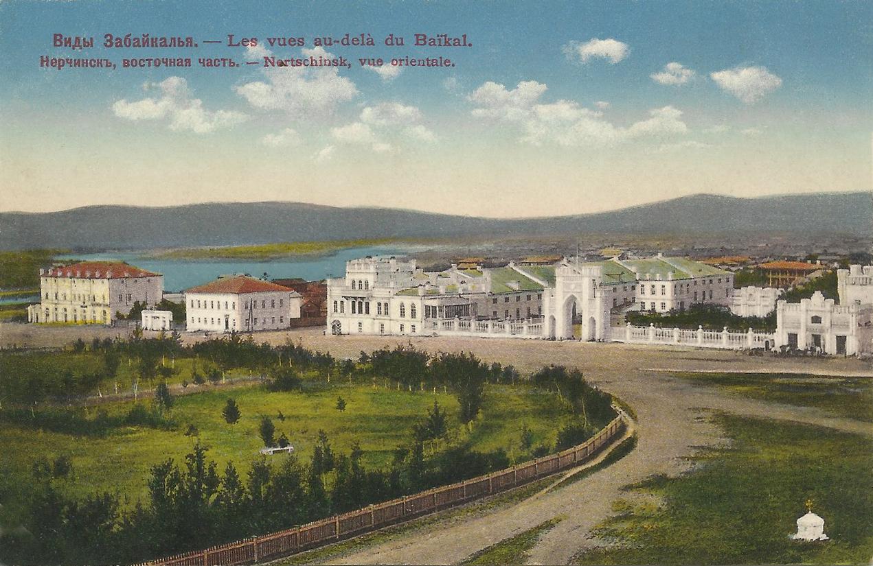 Вид на запад от Воскресенского собора