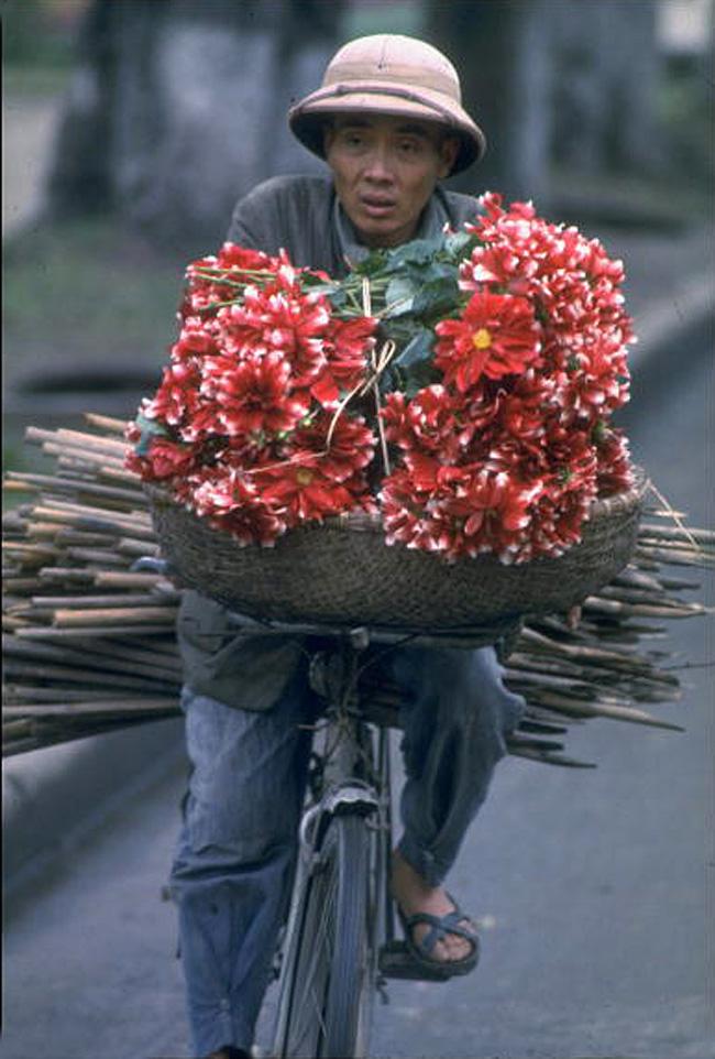 Продавец цветов
