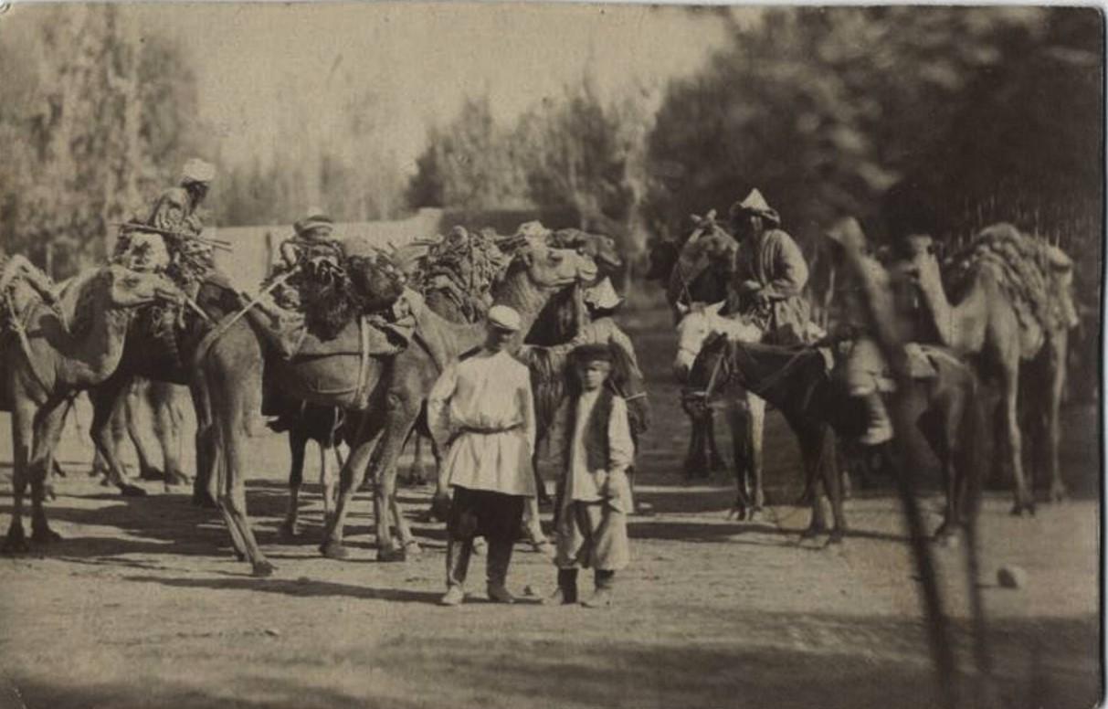На улице в Ташкенте. 1870