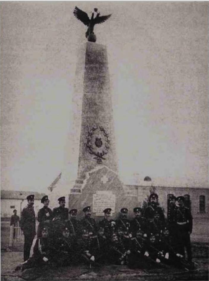 Обелиск в честь событий 1905 года в ташкентской крепости