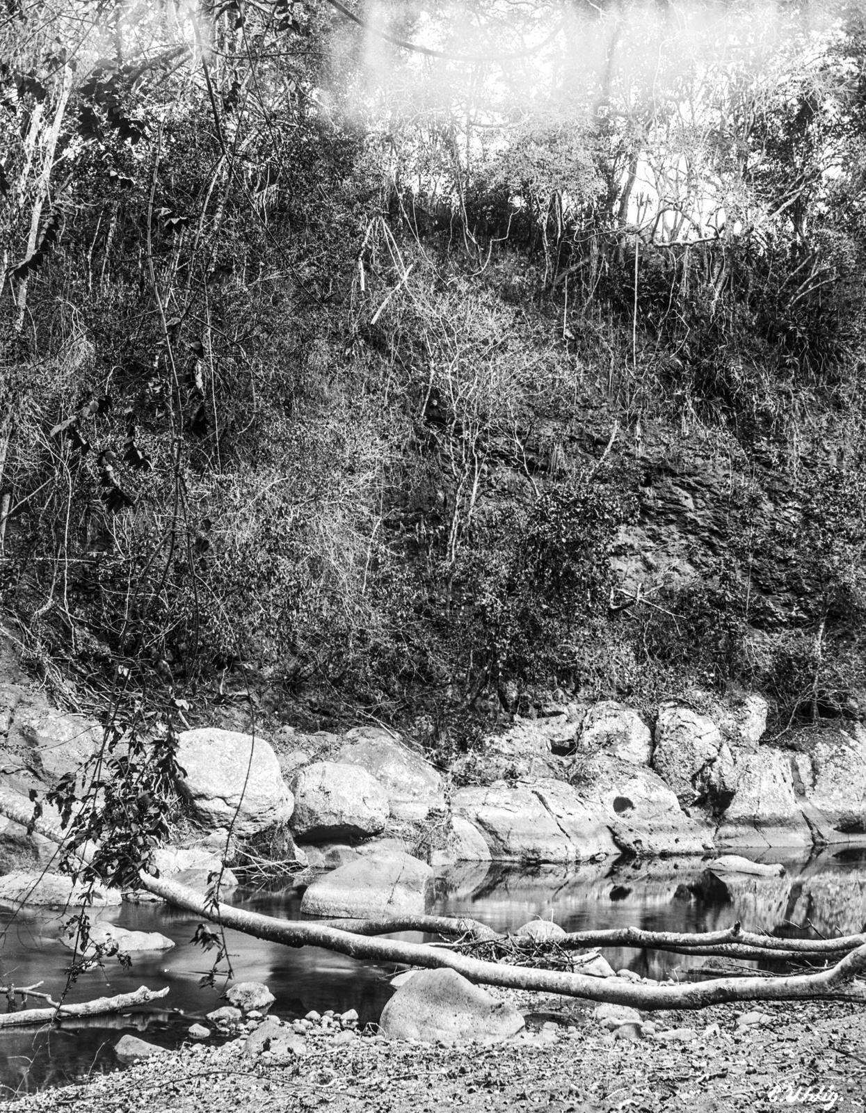 143. На реке Гаранга на высоте 900 метров