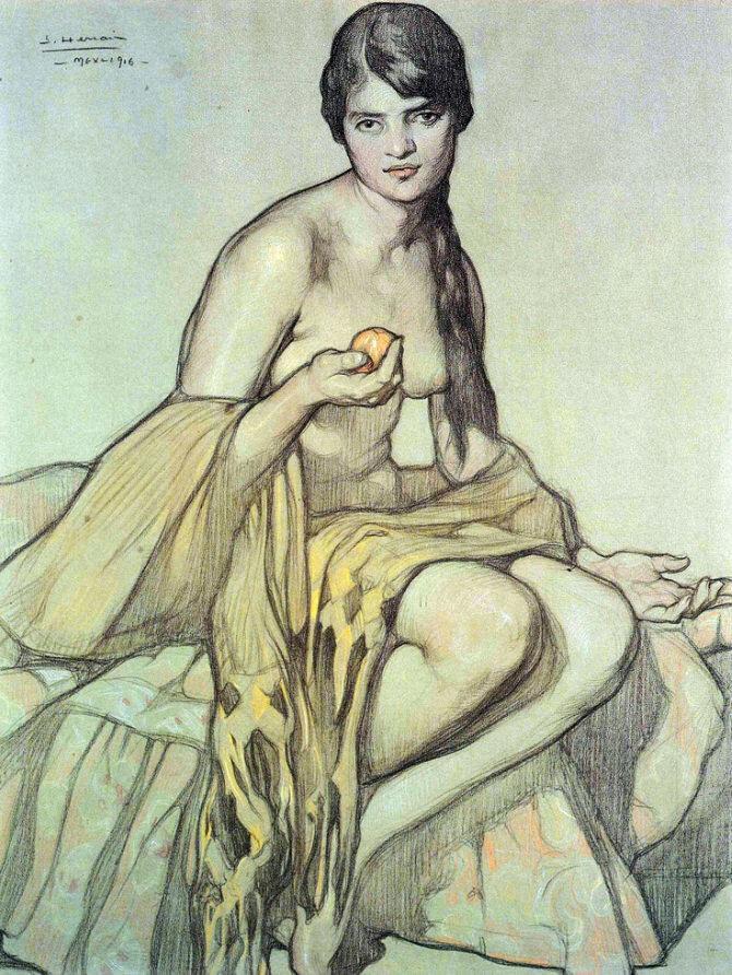 El rebozo - 1916.jpg