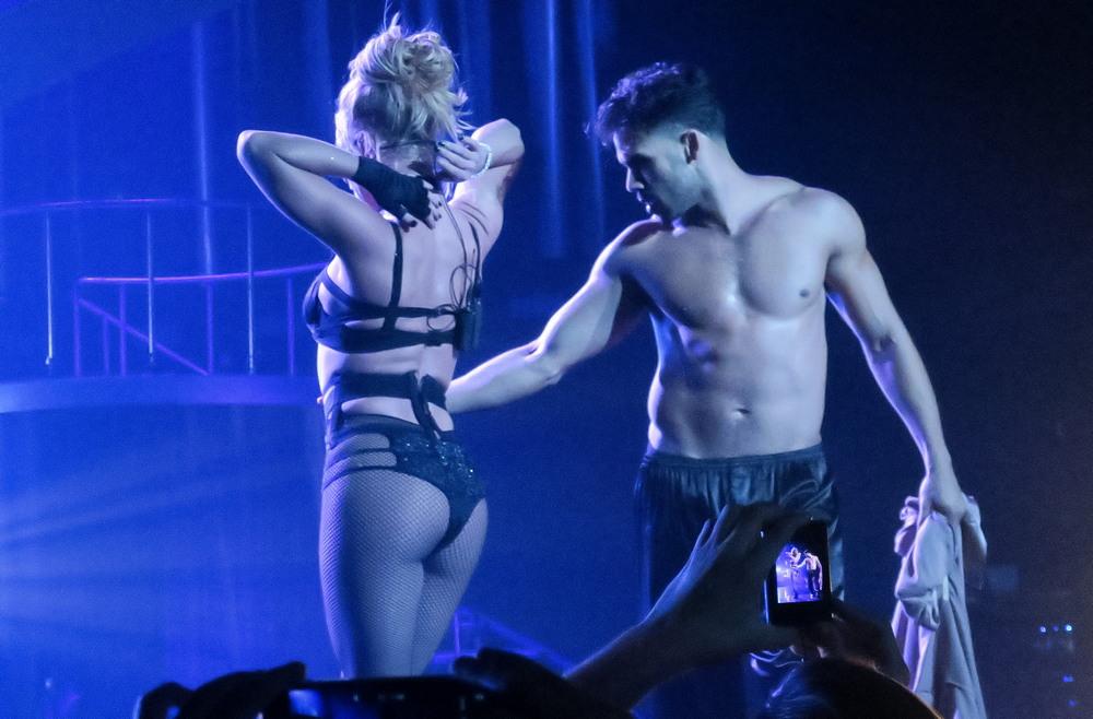 Бритни Спирс выступила в Лас-Вегасе