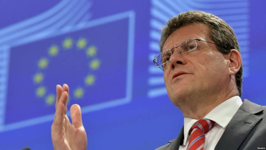 ЕС готов к посредничеству относительно соглашения Украины и России о транзите газа после 2019 года – Шефчович