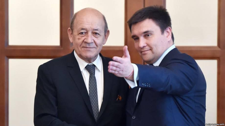 Климкин анонсирует визит на Донбасс министров иностранных дел Германии и Франции
