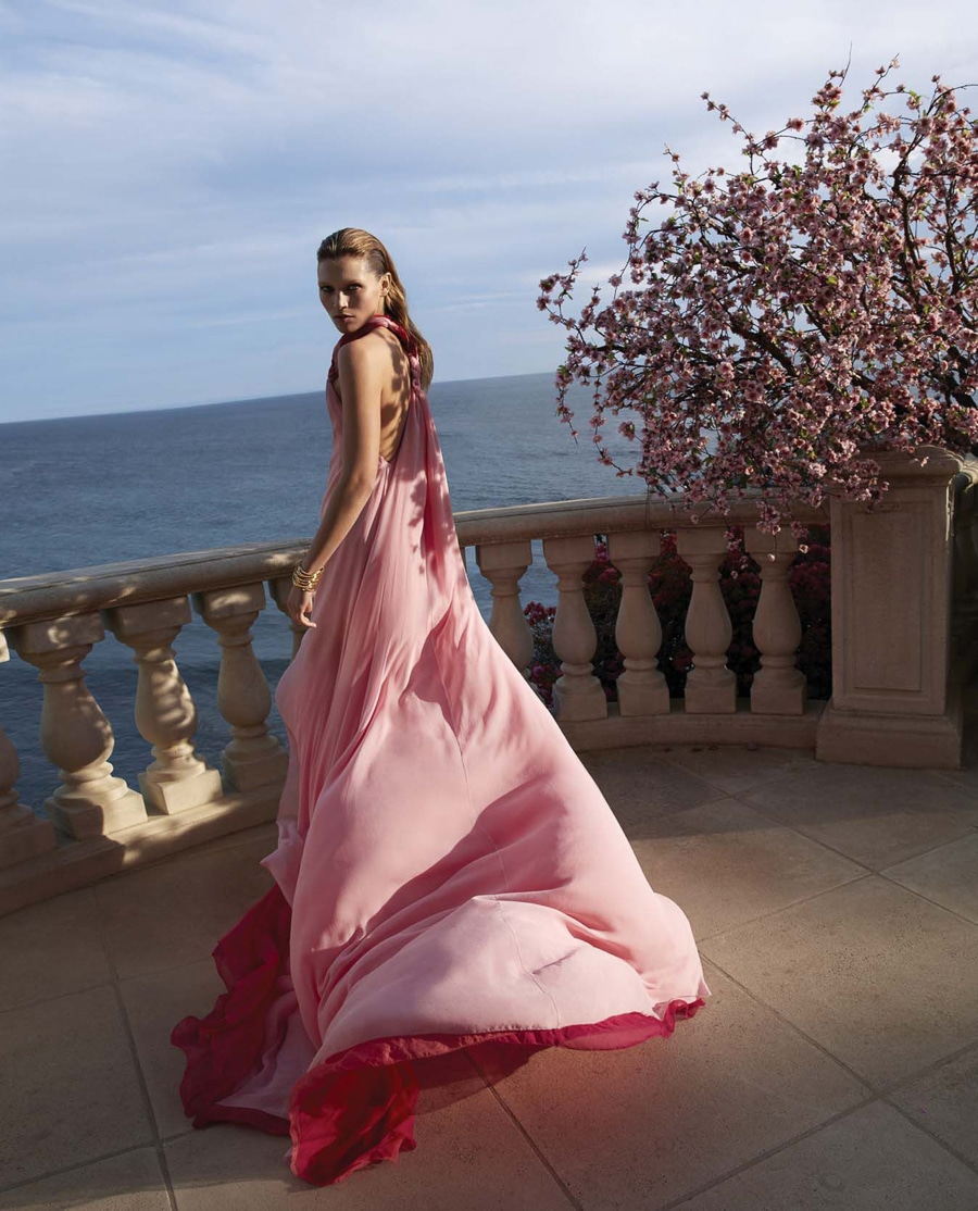 Hana Jirickova by Camilla Akrans for Harper's Bazaar March 2018