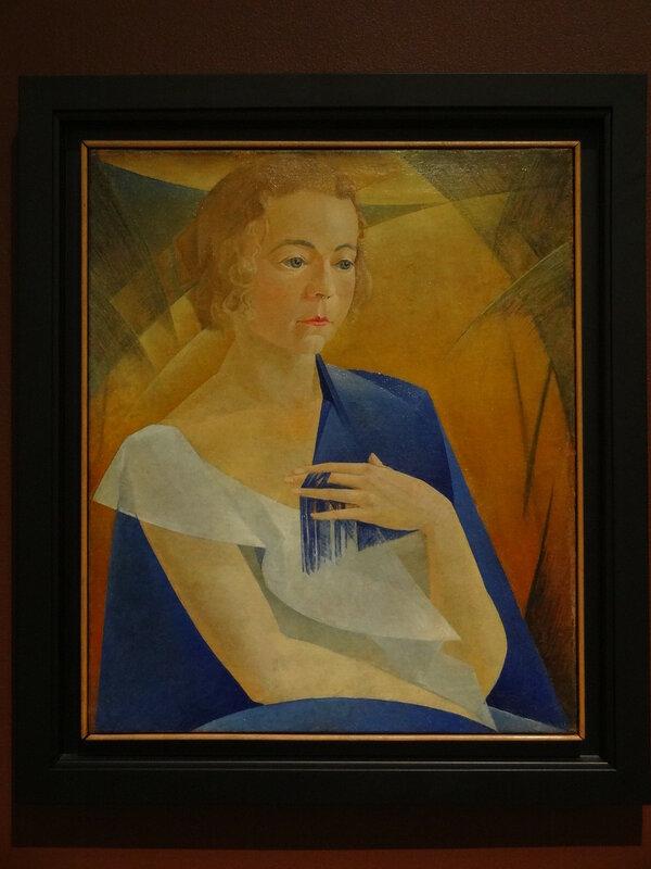 Леонид Чупятов Портрет Ксении (К. П. Чупятовой). 1920-е Коллекция Владимира Левшенкова.JPG