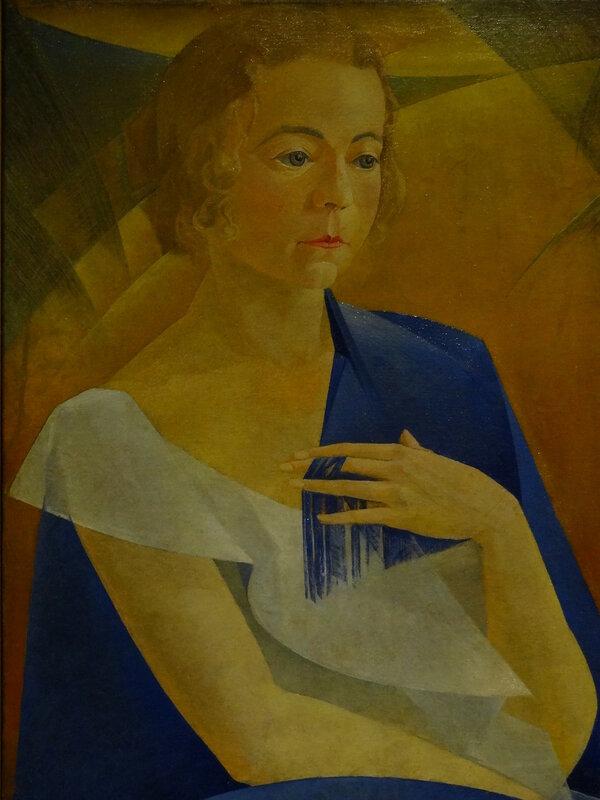 Леонид Чупятов Портрет Ксении (К. П. Чупятовой). 1920-е Коллекция Владимира Левшенкова1.JPG