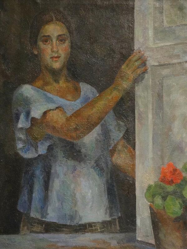 Роберт Фальк Девушка у окна. 1926 Краснодарский краевой худож. музей1.JPG