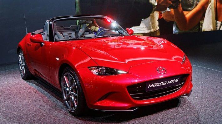Обновленная Mazda MX-5 может стать мощнее