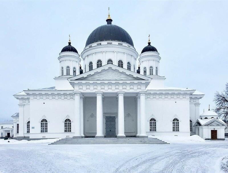 Нижний Новгород, Спасский Староярмарочный собор (1816-1822)