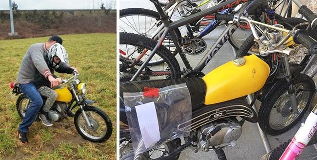 © melflesher / facebook  Запись Мел Флэшер на Facebook обукраденном мотоцикле приобрела виру