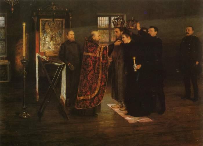 Одним из аспектов отличия русской живописи от европейской было небывало прогрессивное отношение (сущ