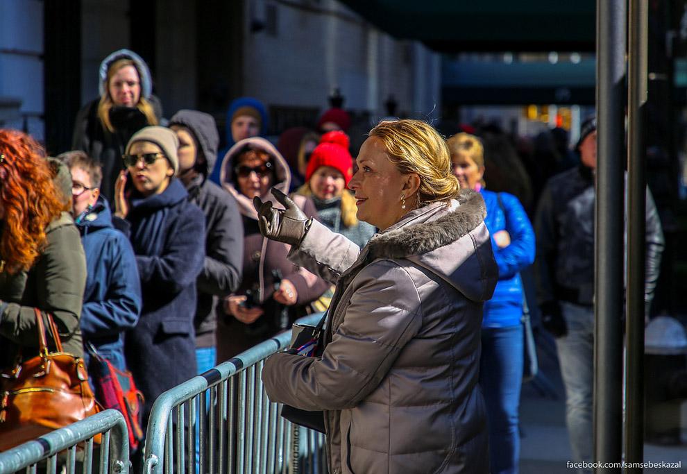 Как проходили выборы президента России в Нью-Йорке