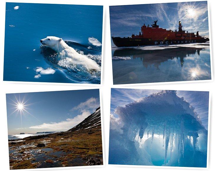 Путешествие на Северный полюс. Часть 1 (49 фото)