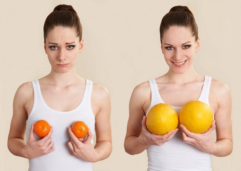 Женский характер в зависимости от формы груди (14 фото)