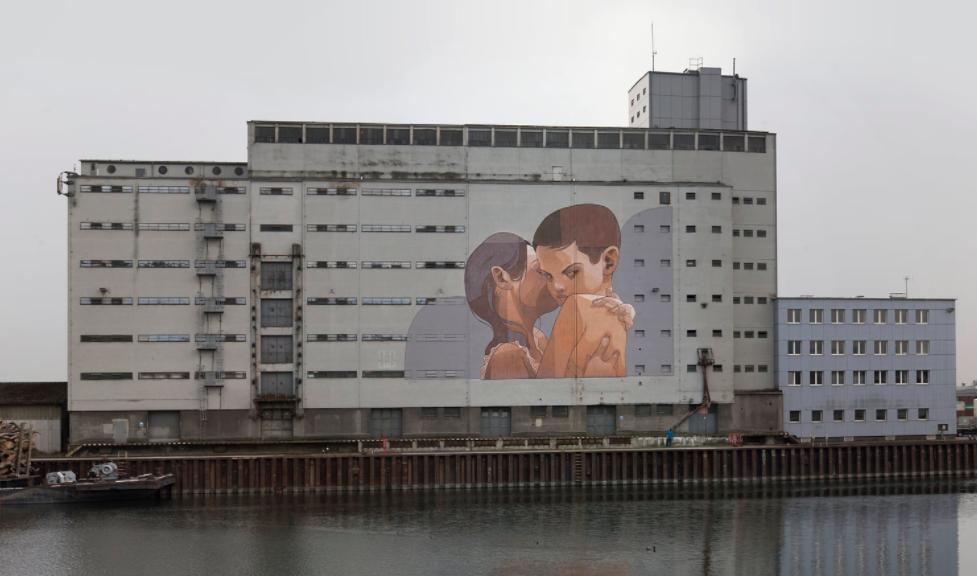 Gigantic Mural Artworks by Aryz