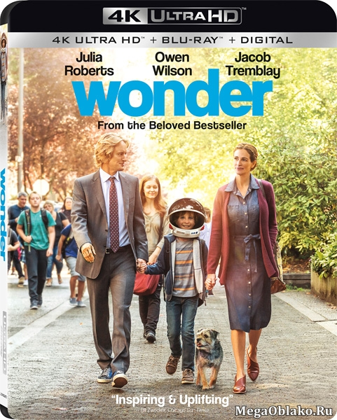 Чудо / Wonder (2017) | UltraHD 4K 2160p