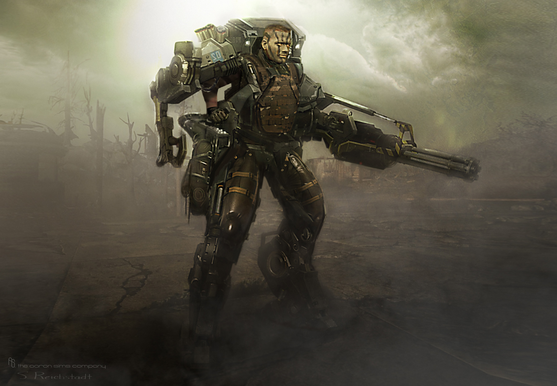 Edge of Tomorrow Concept Art by The Aaron Sims Company (4 pics)