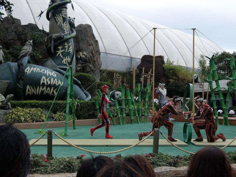 Гонконг - Oкеанический парк - Представление для детей