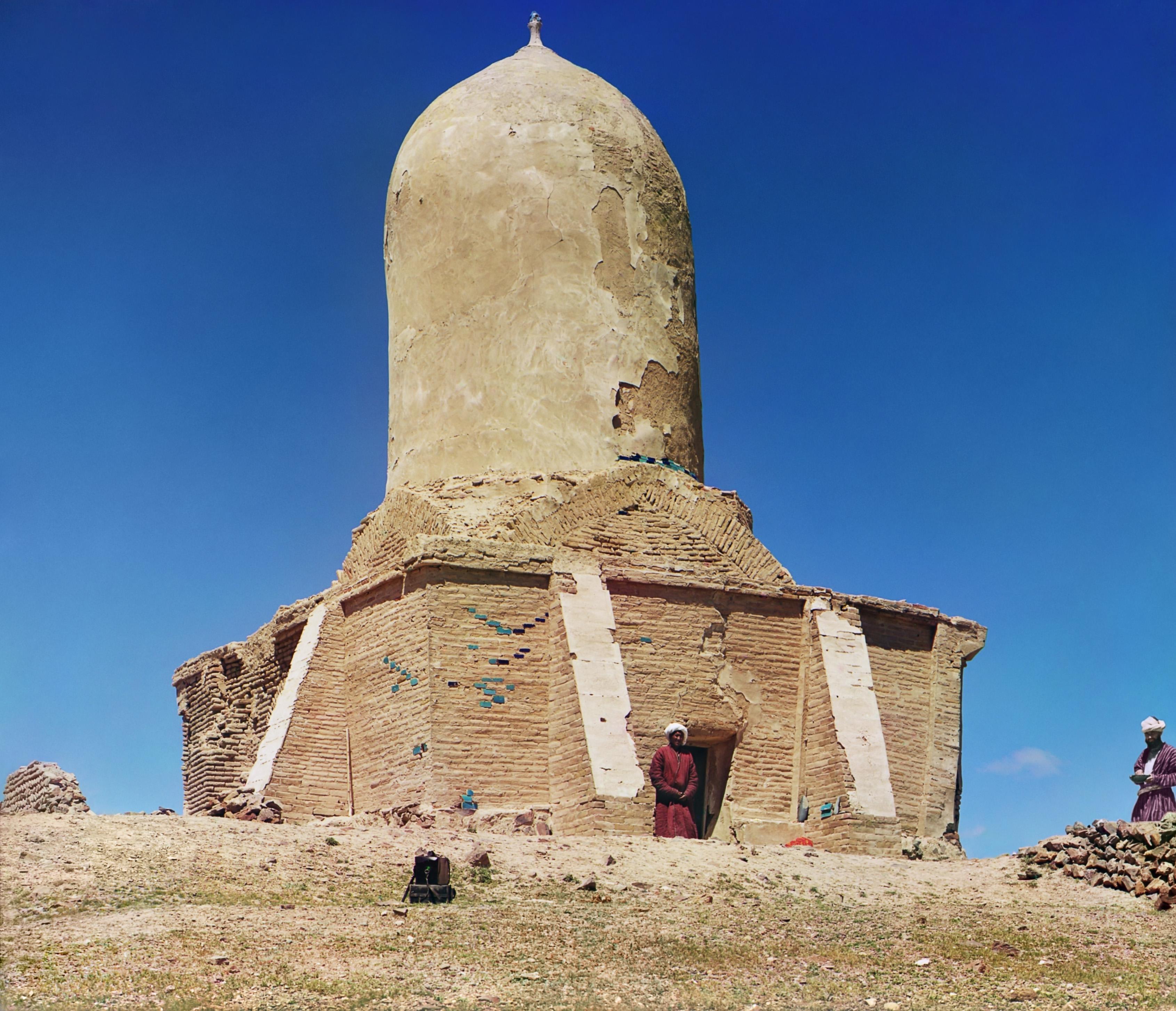 Окрестности Самарканда. Часовня (мазар) на горе Чапан-Ата в 5 верстах от Самарканда