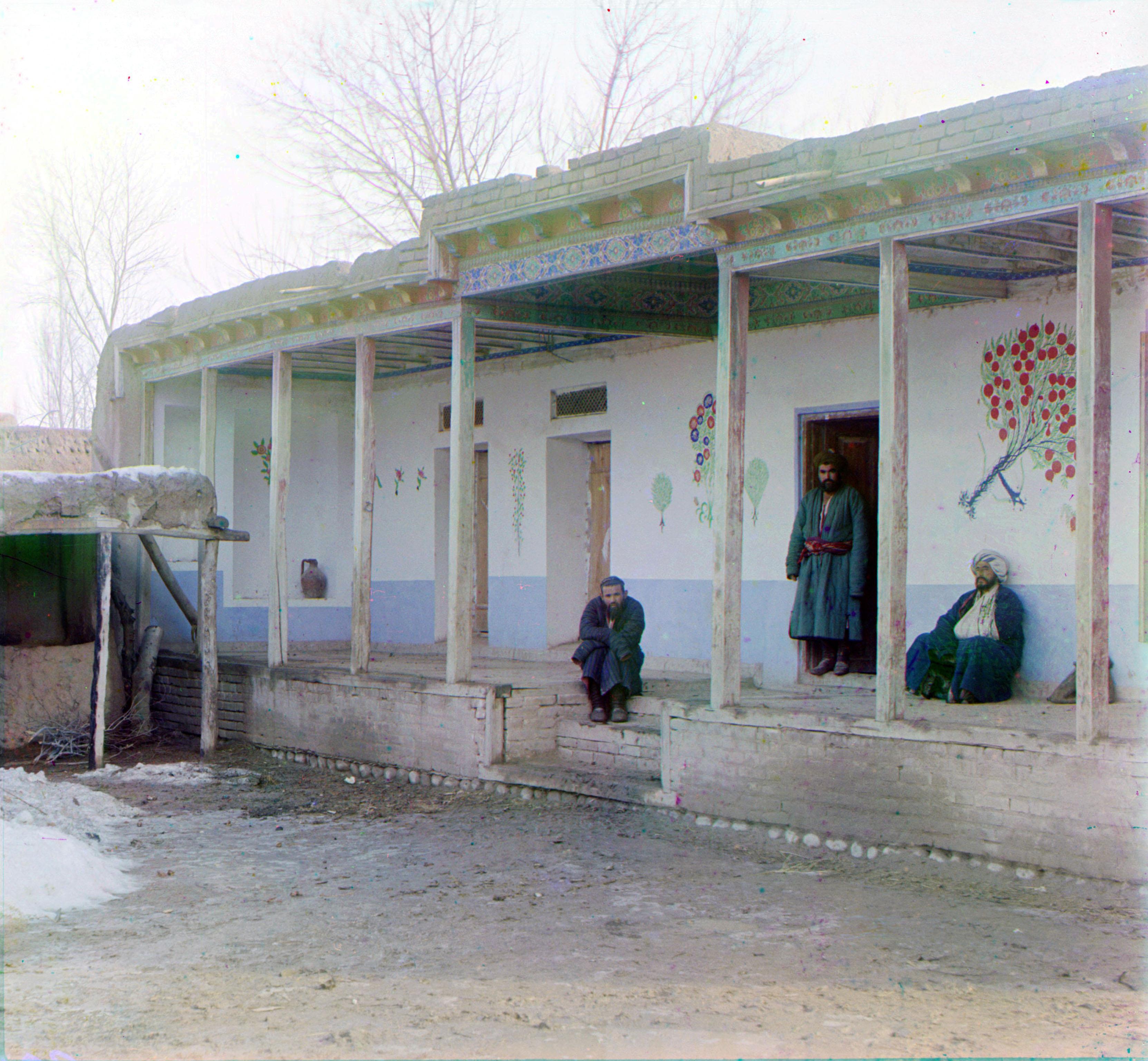 Окрестности Самарканда. Сартский дом
