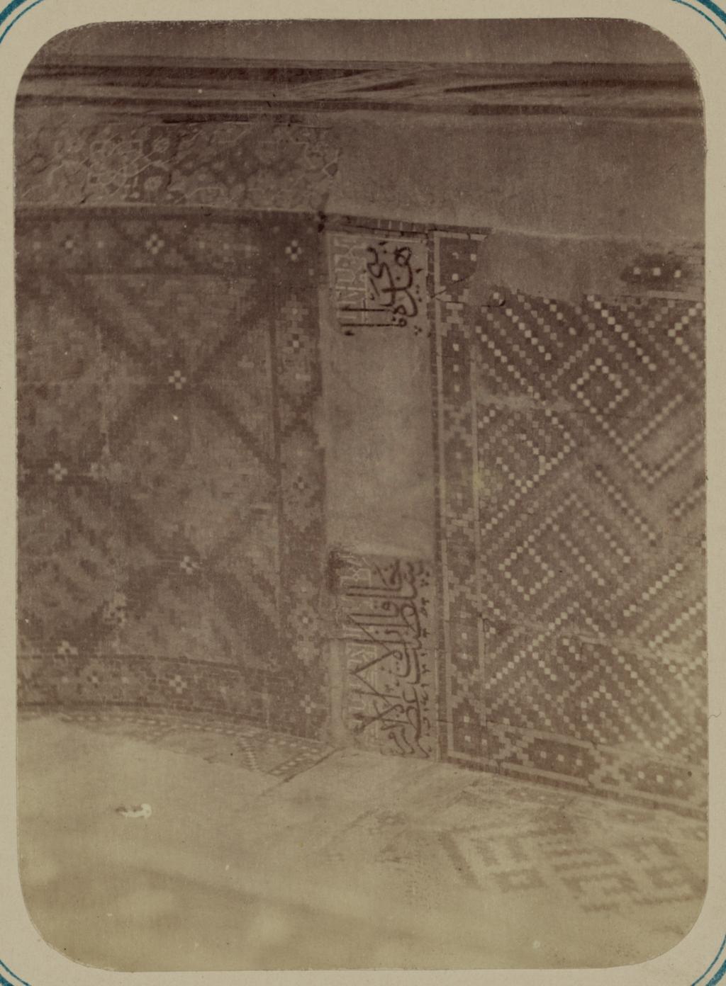 Медресе Надир Диван-Беги, соборная мечеть (мечеть джами). Начало
