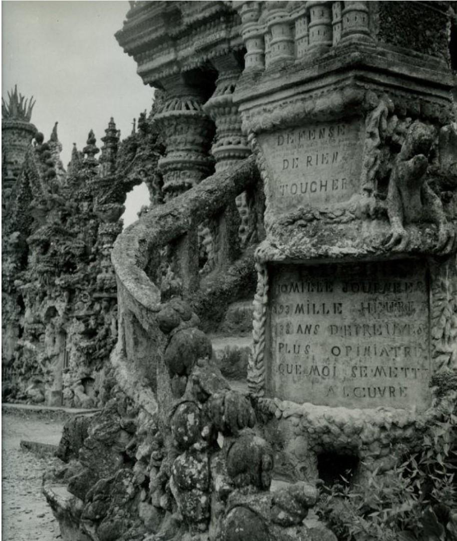 1953. Идеальный дворец почтальона Шеваля
