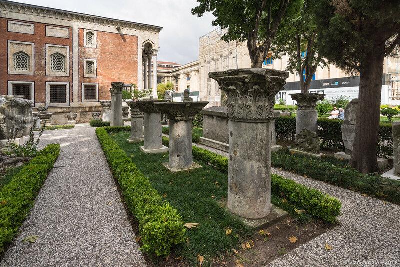 Археологический музей Стамбула. Открытая экспозиция.