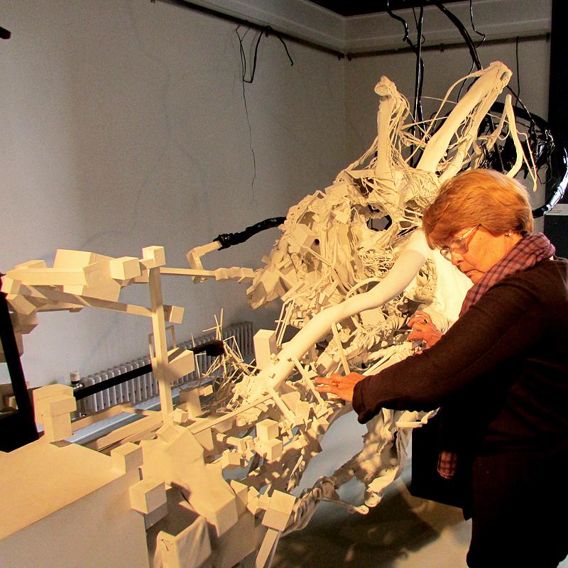 Дмитрий Каварга эксперимент в музейном пространстве