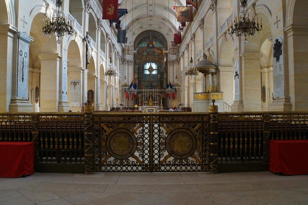 В соборе Святого Людовика