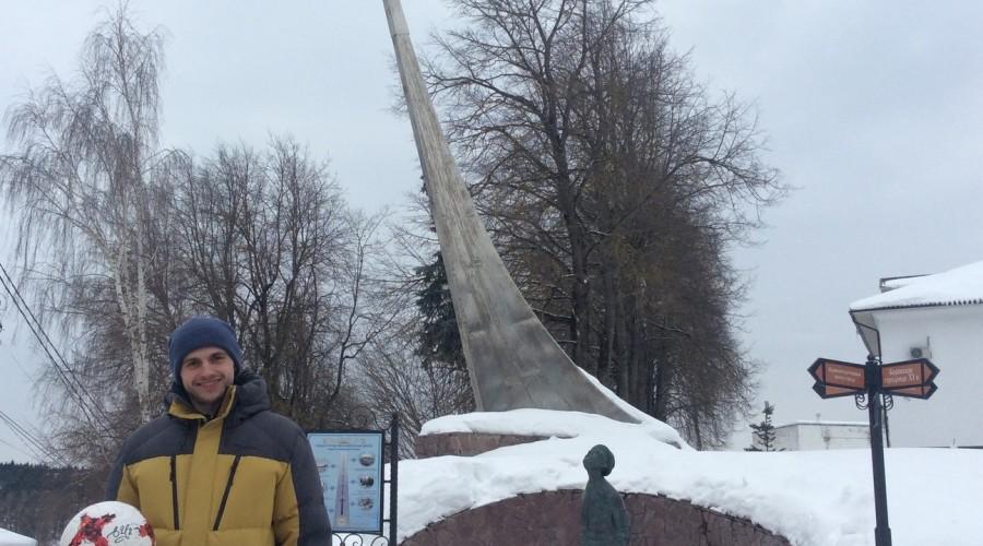 Активисты Народного фронта наградили лауреата конкурса «Молодежки ОНФ» из Калужской области