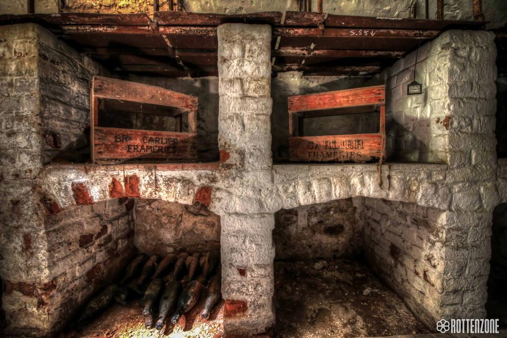 Удивительные интерьеры пустующего несколько десятилетий особняка в Бельгии