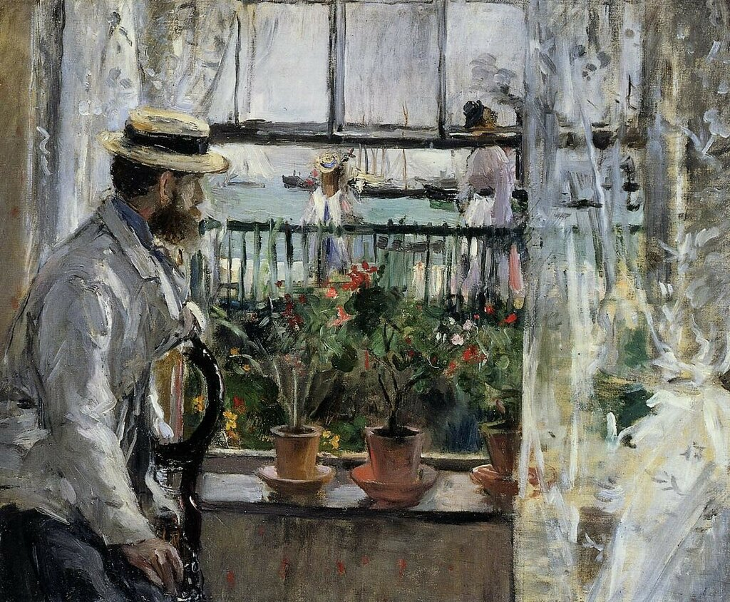 Eugene Manet on the Isle of Wight - 1875 - Musee Marmottan (France).jpeg