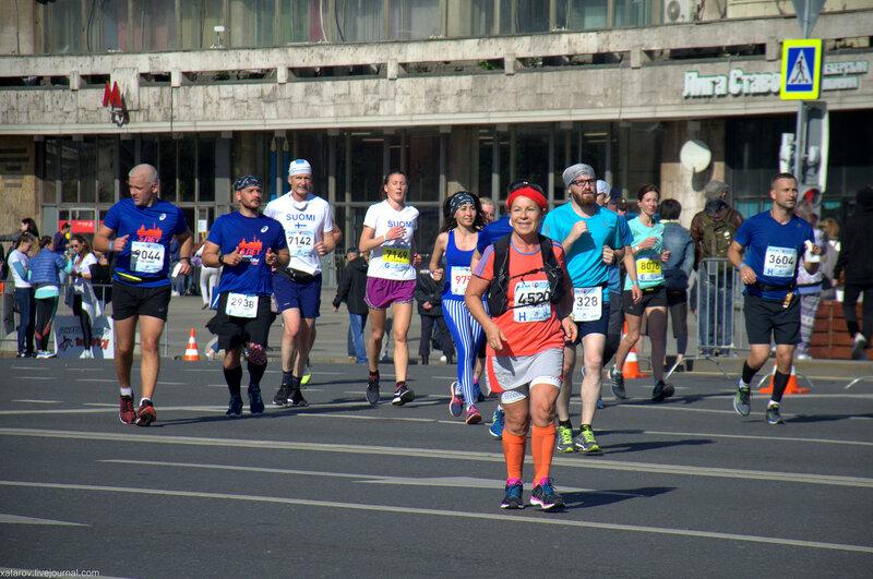Пятый московский марафон. 24 сентября 2017 года