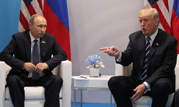 Встреча президентов России и США состоялась 7 июля на саммите Двадцатки в Гамбурге