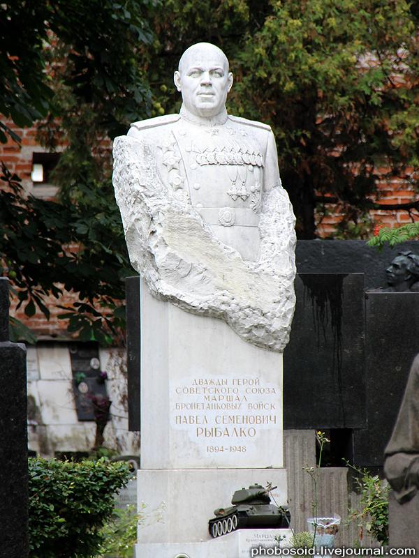 12. Рыбалко Павел Семенович — выдающийся советский военачальник, маршал бронетанковых войск, команду