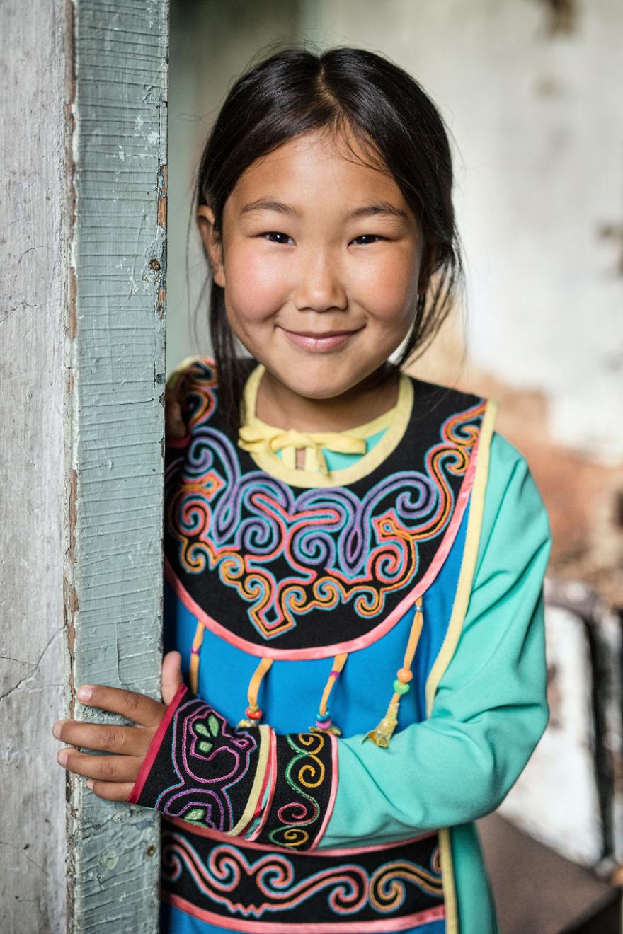 Девочка из народа ороки (самоназвание — уйльта).