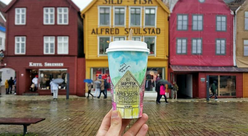 Берген, Норвегия.