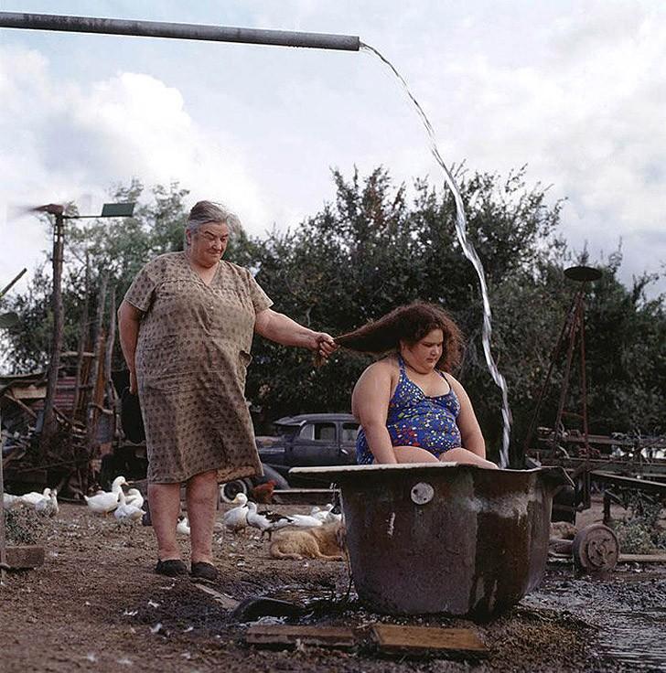 11. Летняя ванна, 2000